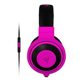 Razer Kraken Mobile Analog Music & Gaming Headset-Neon Purple  (RZ04-01400500-R3U1)
