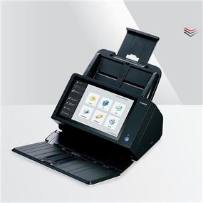 "ScanFront 400, SF400, Document Scanner, Network ready, 10.1"" LCD, LTR-size color duplex scanner, , Scan up to 45ppm / 90ipm (mono), 600 dpi optical resolution, 24-bit color, Scan directly to email / share folder / FTP / USB memory / Fax / Print, 60- sheet automatic document feeder, Ethernet, 3x USB 2.0"