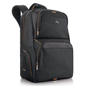 SOLO UBN701-4 Pro 17.3-Inch Laptop Backpack, Black