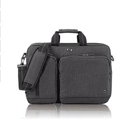 "SOLO 15.6"" Laptop Hyrbid Briefcase Backpack, Grey, UBN310-10"