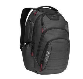 "Ogio Renegade RSS 17"" Laptop Backpack - Black Pindot"
