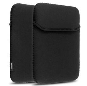 """PC Treasures 10""""  Reversible Tablet/Netbook Sleeve- Black/Black"""