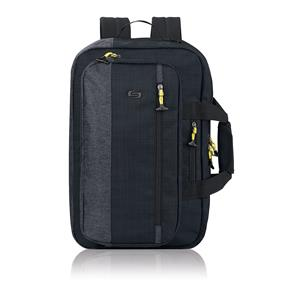 "Solo Velocity 15.6"" Laptop Hybrid Backpack Briefcase (Black) (ACV330-4)"