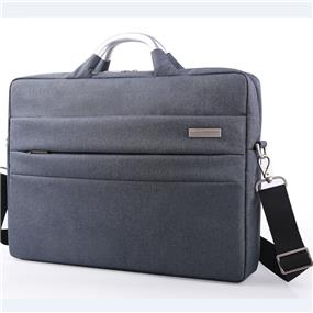 "Miracase Lecon Premium Collection-15.6"" Laptop Briefcase-Grey (NH-8059)"
