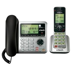 VTech CS6649 - Corded/Cordless Answering System