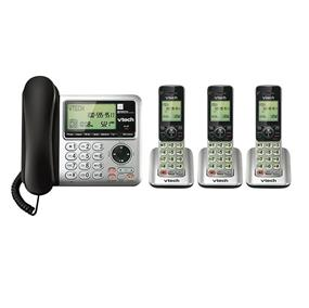VTech CS6649 - 3 Corded/Cordless Answering System