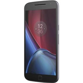 "Motorola Moto G 4th Gen Plus - 5.5"" Unlocked Smartphone - Black"