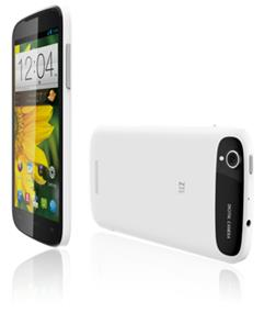 "ZTE Z933 - 5.0"" HD  Display  Unlocked Smartphone - White"