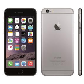"Apple iPhone 6 - 4.7"" Unlocked Smartphone - Grey (Recertified - Good Condition)"