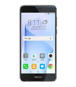 "Huawei Honor 8 - 5.2"" Unlocked Smartphone - Midnight Black"