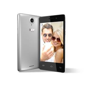 "SKY 4.0D - 4"" Unlocked Dual SIM Smartphone - Silver"