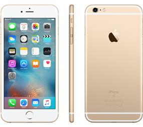 "Apple iPhone 6 - 4.7"" Unlocked Smartphone - Gold (Recertified - Good Condition)"