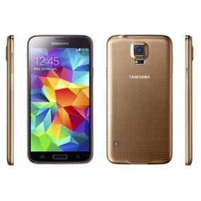 "Samsung Galaxy S5 - 5.1"" Unlocked Smartphone - Gold (Recertified - Good Condition)"