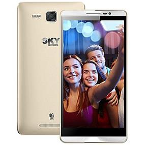 "SKY 5.5L - 5.5"" Unlocked Dual SIM LTE Smartphone - Gold"