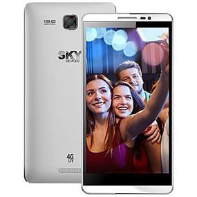 "SKY 5.5L - 5.5"" Unlocked Dual SIM LTE Smartphone - Silver"