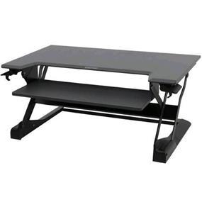 ERGOTRON Stand Workfit-TL Sit-Stand Premium Workstation (Black)