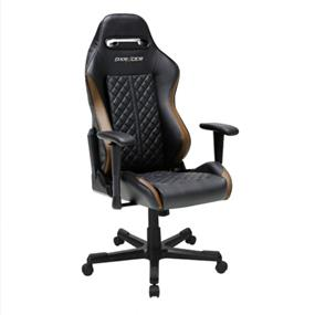 DXRACER Performance Chair, Drifting-Series, GC-D73-NC-F1, Black & Coffee