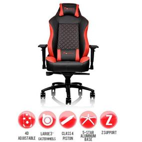 Thermaltake Tt eSports GTC 500 Gaming Chair / GT Comfort Series (Black & Red)