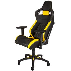 Corsair T1 Race  Gaming Chair — Black/Yellow