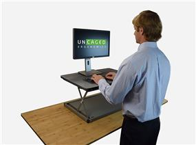 CHANGE desk Sit-Stand Workstation CDMM-b - Black