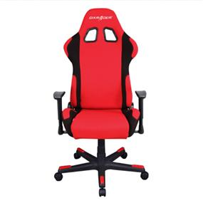DXRACER PC Gaming Chair, F-Series, GC-F01-RN-D1,  Red & Black