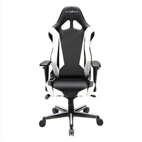 DXRACER Gaming Chair, Racing Series, GC-R001-NW-V2, Black & White