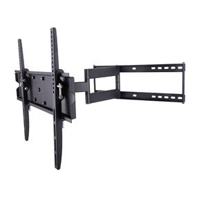 "TygerClaw Full Motion Wall Mount (LCD4097BLK) Designed for Most 42"" to 83""  Flat-Panel TV up to 132lbs/60kgs"