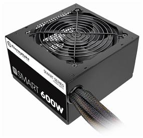 Thermaltake Smart White 600W 80 PLUS Certified Power Supply (PS-SPD-0600NPCWUS-W)