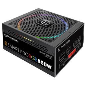 Thermaltake Smart Pro RGB 850W 80 Plus Bronze Certified Full Modular Power Supply (PS-SPR-0850FPCBUS-R)