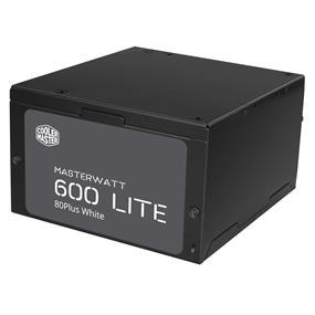 Cooler Master MasterWatt Lite 600W 80Plus White Power Supply (MPX-6001-ACAAW)