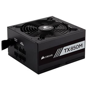 Corsair TX Series TX850M 850W 80 PLUS Gold Certified Semi-Modular Power Supply (CP-9020130-NA)