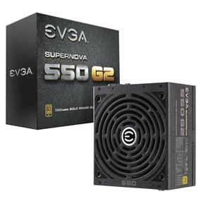 EVGA SuperNOVA 550 G2 550W Gold Power Supply (220-G2-0550-Y1)