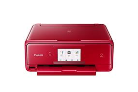 Canon PIXMA TS8020 Red Multifunction Inkjet Printer