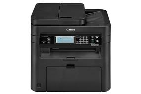 Canon imageCLASS MF249dw Laser Multifunction Printer - Monochrome - Plain Paper Print - Desktop - Copier/Fax/Printer/Scanner - 28 ppm Mono Print - 600 x 600 dpi Print - Automatic Duplex Print - 1 x Cassette 250 Sheet, 1 x Multipurpose Tray 1 Sheet, 1 x Automatic Document Feeder 50 Sheet, 1 x Output Bin 100 Sheet LCD Touchscreen - 600 dpi Optical Scan - 251 sheets Input - Fast Ethernet - Wireless LAN - USB DIRECT DUPLEX MOBILE READY PRINTER