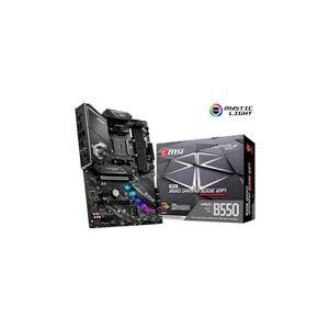 MSI MPG B550 GAMING EDGE WIFI B550 Socket AM4 (Supports 3rd Gen AMD Ryzen™ Processors) ATX 4 DIMM DDR4, PCIE 4.0, 2.5GLAN, WiFi 6, Mystic Light JRAINBOW (ARGB)