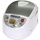 Tiger JBA-T18U 10 Cups 3-in-1 Microcomputer Controlled Rice Cooker / Steamer / Slow Cooker - White & Stainless Steel (JBA-T18U) | 918 W , 9 Computerized Cooking Settings | Made in Japan