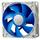 Deepcool DC Fan UF 80 Patented De-vibration fan the rubber fan frame PWM Long life-time two-ball bearing 900±150~2200±10%RPM
