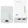 TP-LINK AV500 TL-WPA4220KIT Powerline Extender kit w/WiFi 802.11b/g/n 300Mbps