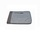 """iCAN 13.3""""  Laptop Sleeve   Grey Fabric with PU leather"""