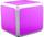 INTELLI      i-Cube CD Storage [FS1104]  Pink