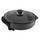 Ragalta Economics 12'' Multi-Use Electric Non-Stick Skillet - Black (RES-16000) | Perfect for Fry , Grill , Roast , Stew , Bake | Variable Temperature Settings : 200 - 400ºF