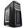 Deepcool Kendomen TI Black with Titanium Highlights Window Mid Tower Case | 2 White LED Fans, 3 Black Fans