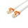 PowerSync Cat 7 Super High Speed Flat Cable Gold-plated (White) - 2 M (CAT702FLW)