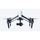DJI Inspire 1 Raw  Drone | Professional 4K Camera | 16 MP Photos | 1 KM Range | 25min Runtime | 3-Axis Stabilization Gimbal | Live HD View