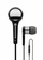 Beyerdynamic MMX 102 iE - Premium In-Ear Headset (Black) | HD Neodymium acoustic transducer | Refined lightweight metal housing | High-resolution, crystal clear sound | Fascinating bass | Hands-free mic