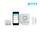 Skylink Alarm System Starter Kit Mini | Includes: Hub, Window/Door Sensor, Motion Sensor (SK-150)