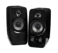 Creative Inspire T10 -- 2.0 Speaker System - Black (51MF1601AA000) - (Retail Box) |Powered by AC outlet