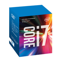 Intel Core i7-7700 Kaby Lake Quad-Core Processor | Socket LGA 1151, 3.6GHz, 8MB L3 Cache, 14nm | (Retail Boxed) Gen7 (BX80677I77700)