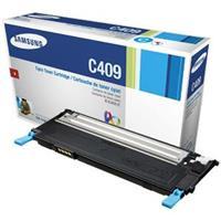 Samsung CLT-C409S/XAA Cyan Toner CartridgeLaser - 1000 Page (CLT-C409S/XAA)