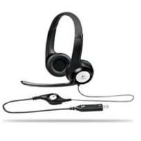 Logitech H390, Stereo Headset - Comfortable Design, Noise-Canceling Mic, In-Line Audio Controls, Digital USB